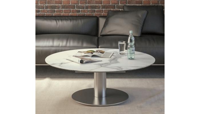 LUNA - Table basse extensible plateau...