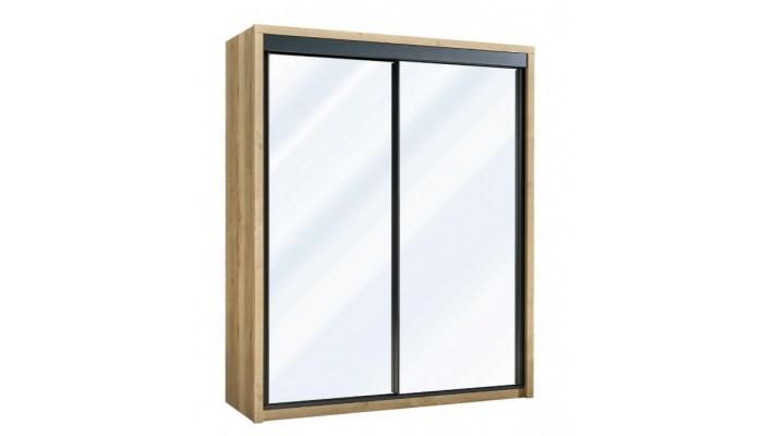 EIFFEL - Armoire 2 portes miroir...