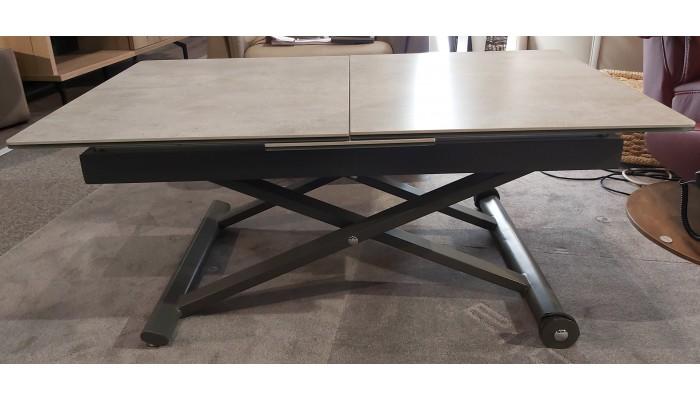 MIAMI - Table basse relevable 1 allonge