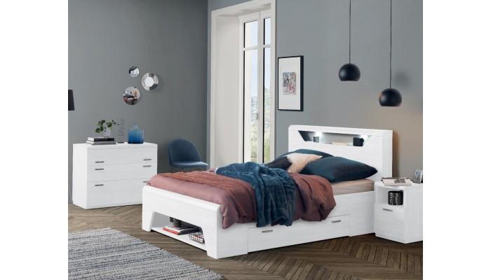 MULTY - Tête de lit niche et cadre...